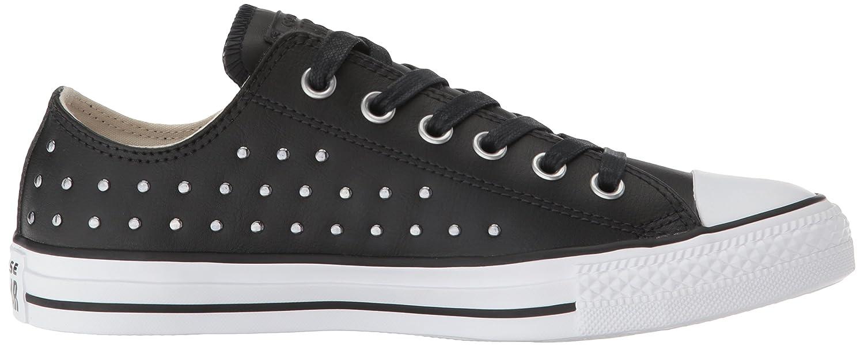 Converse Damen CTAS OX Fitnessschuhe 001) Mehrfarbig (schwarz/schwarz/Silver 001) Fitnessschuhe 695fa7