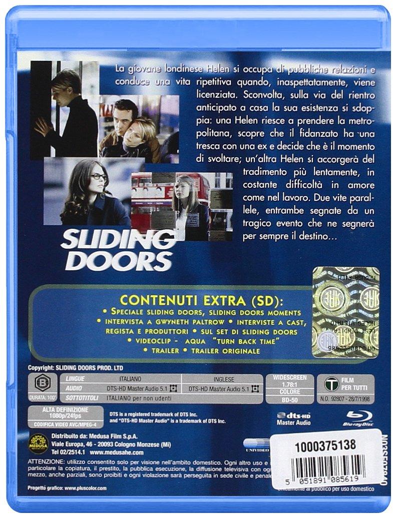 Amazon Sliding Doors Italian Edition Gwyneth Paltrow Jeanne