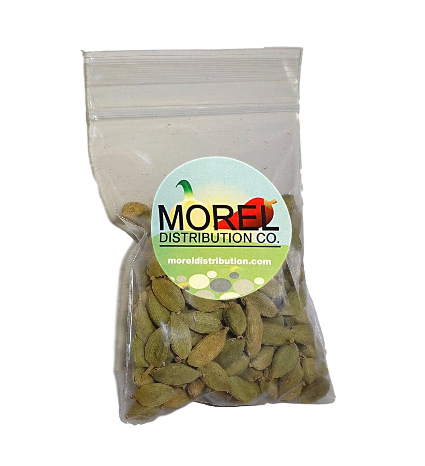 Whole Cardamom Pods/Seeds (Cardamomo) (1 oz, 2 oz, 4 oz, 6 oz, 8 oz, 12 oz, 1 lb, 2 lbs) (1 OZ) by Morel Distribution Company (Image #2)