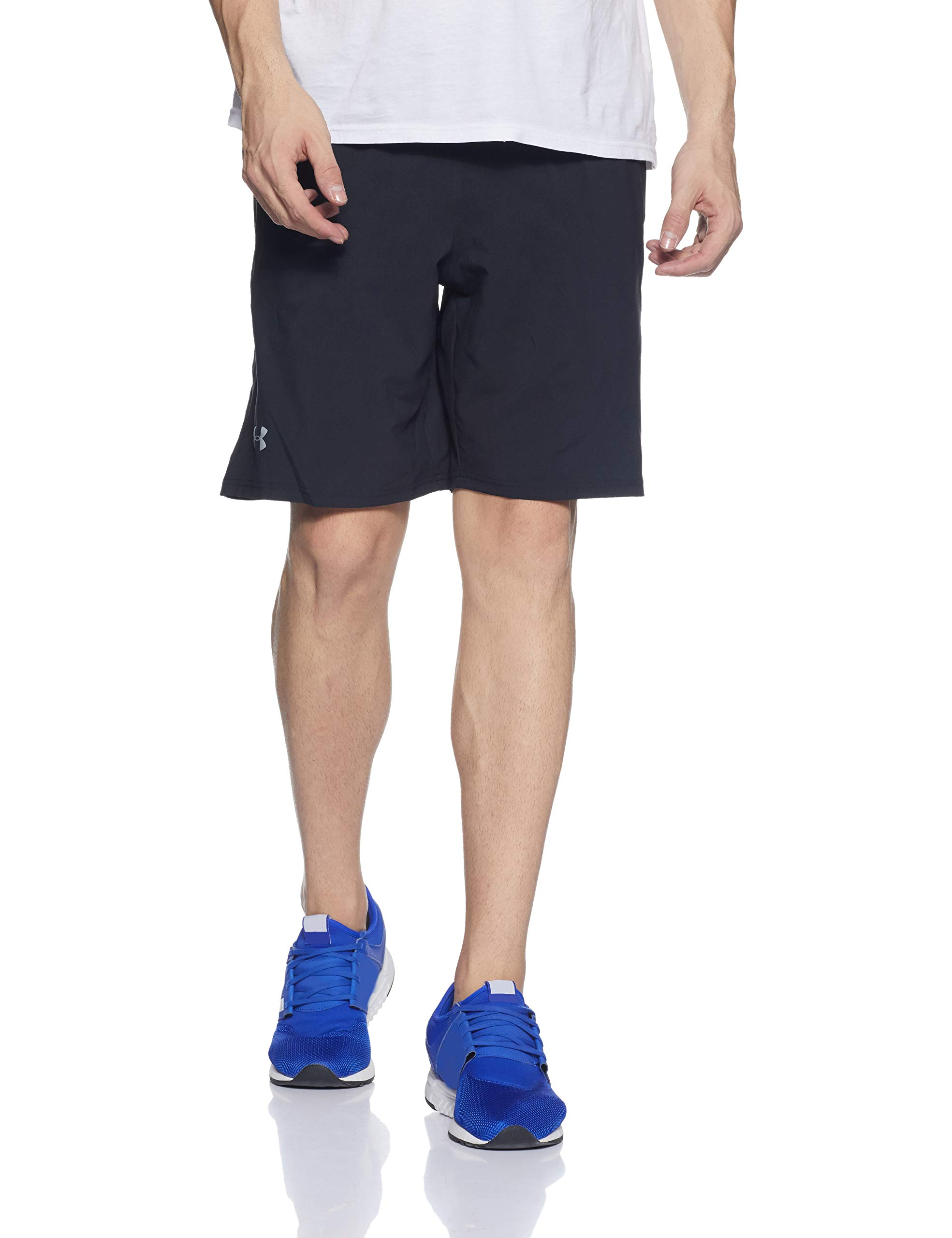 Under Armour Men's Launch 9'' Shorts, Black/Reflective, X-Small