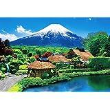 1000ピース ジグソーパズル 世界遺産 富士望む忍野村(49x72cm)