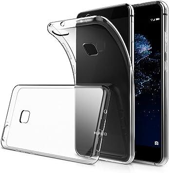 Simpeak Funda Compatible para Huawei P10 Lite, Funda Transparente ...