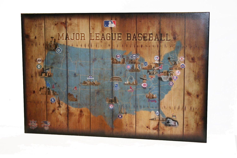 Baseball Map Of Teams
