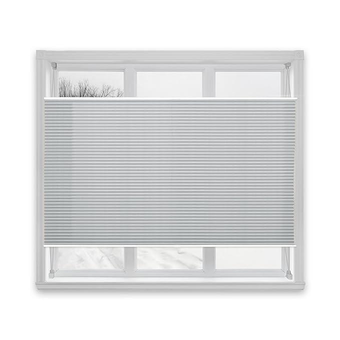 Plissee off white MAGIC Casa PuraFaltrollo Rollo Sichtschutz Jalousie Fenster