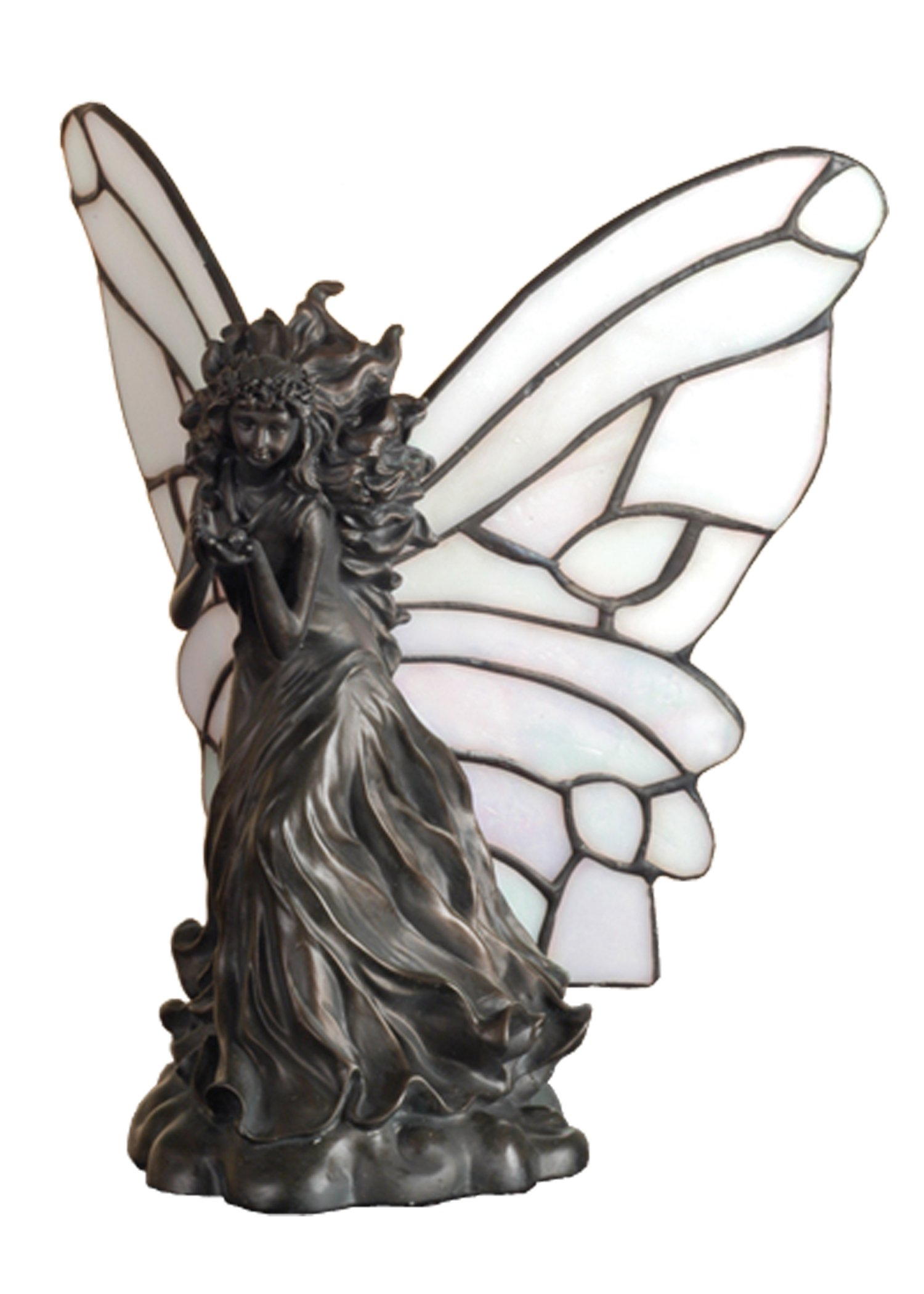 Fairy Holding Ladybug Accent Lamp by Meyda Tiffany