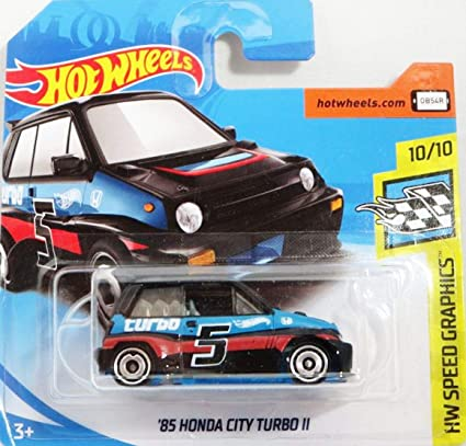 Hot Wheels Honda City Turbo LL – History Car 1985 – 1: 64 – Color