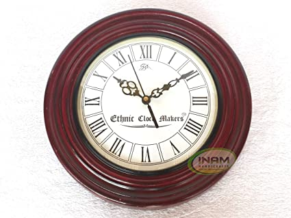 Amazon Com Inam Premium Quality Antique Designer Wall Clock