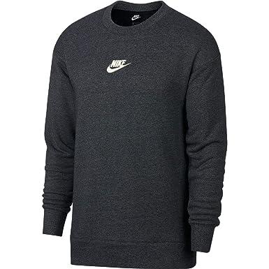 e458d9fe Nike Men's Sportswear Heritage Crw Clb T-Shirts, Black (Black/htr/
