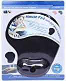 "Cables Kart""¢ Wrist Support, Rest Comfort Gel Mousepad - Heavy Quality"