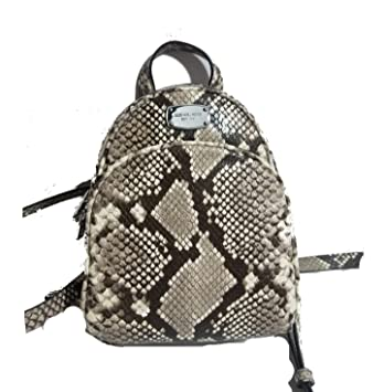 ccfb63398b Amazon.com  Michael Kors ABBEY Embossed Leather Backpack