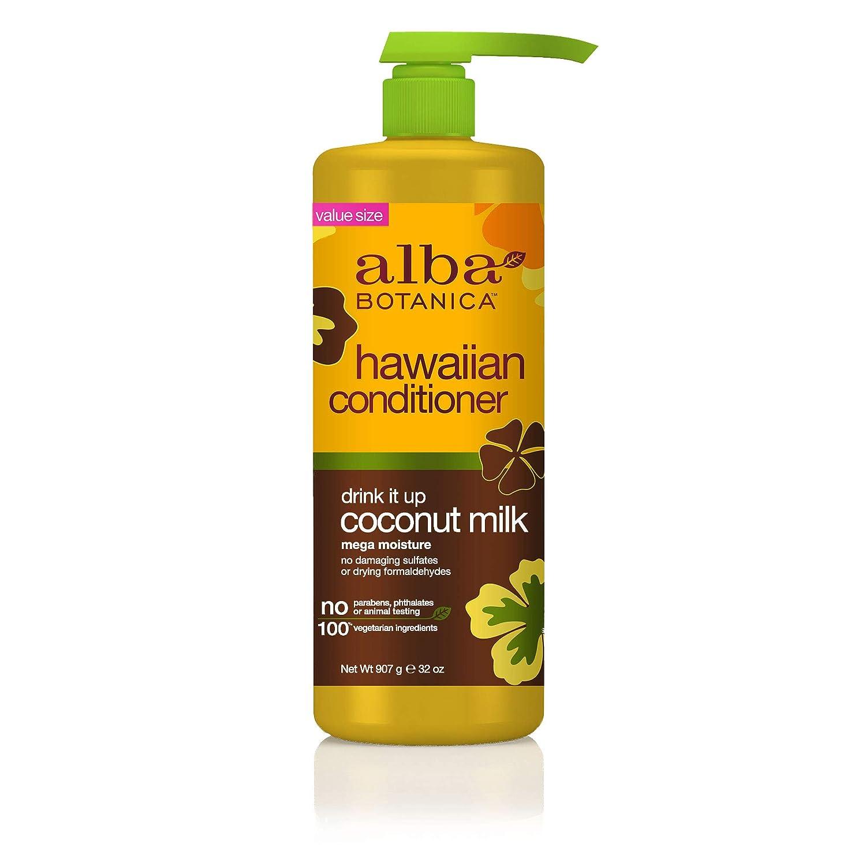 Alba Botanica Drink It Up Coconut Milk Hawaiian Conditioner, 32 oz.
