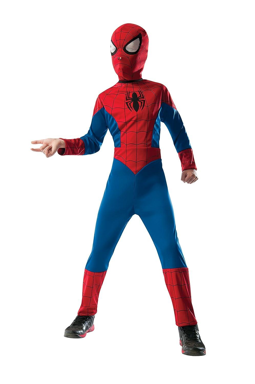 Child Small Rubies Costume Marvel Universe Ultimate Spider-Man 2-in-1 Reversible Spider-Man//Venom