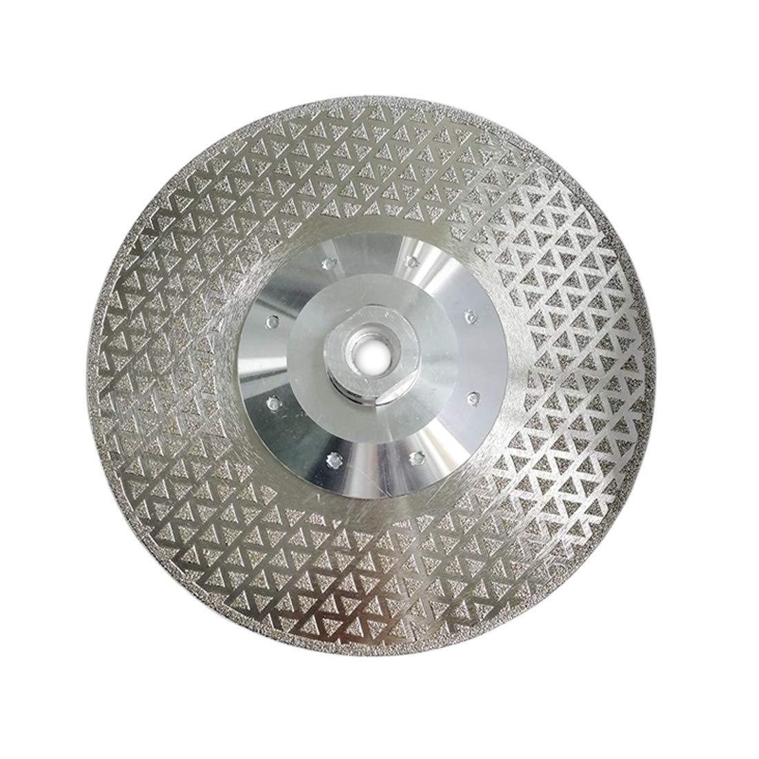 SHDIATOOL Disco Diamante 105mm Hoja de Sierra Estrecha Turbo con Brida M14 para Porcelana Loseta Cer/ámico Granito M/ármol