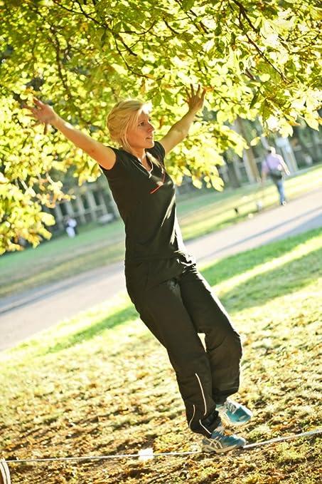 Tukeke Hammock Gibbon Fitness Line 15 Metre Slackline Slack Line Set 15896