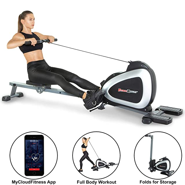 Fitness Reality Magnetic Rower 2636