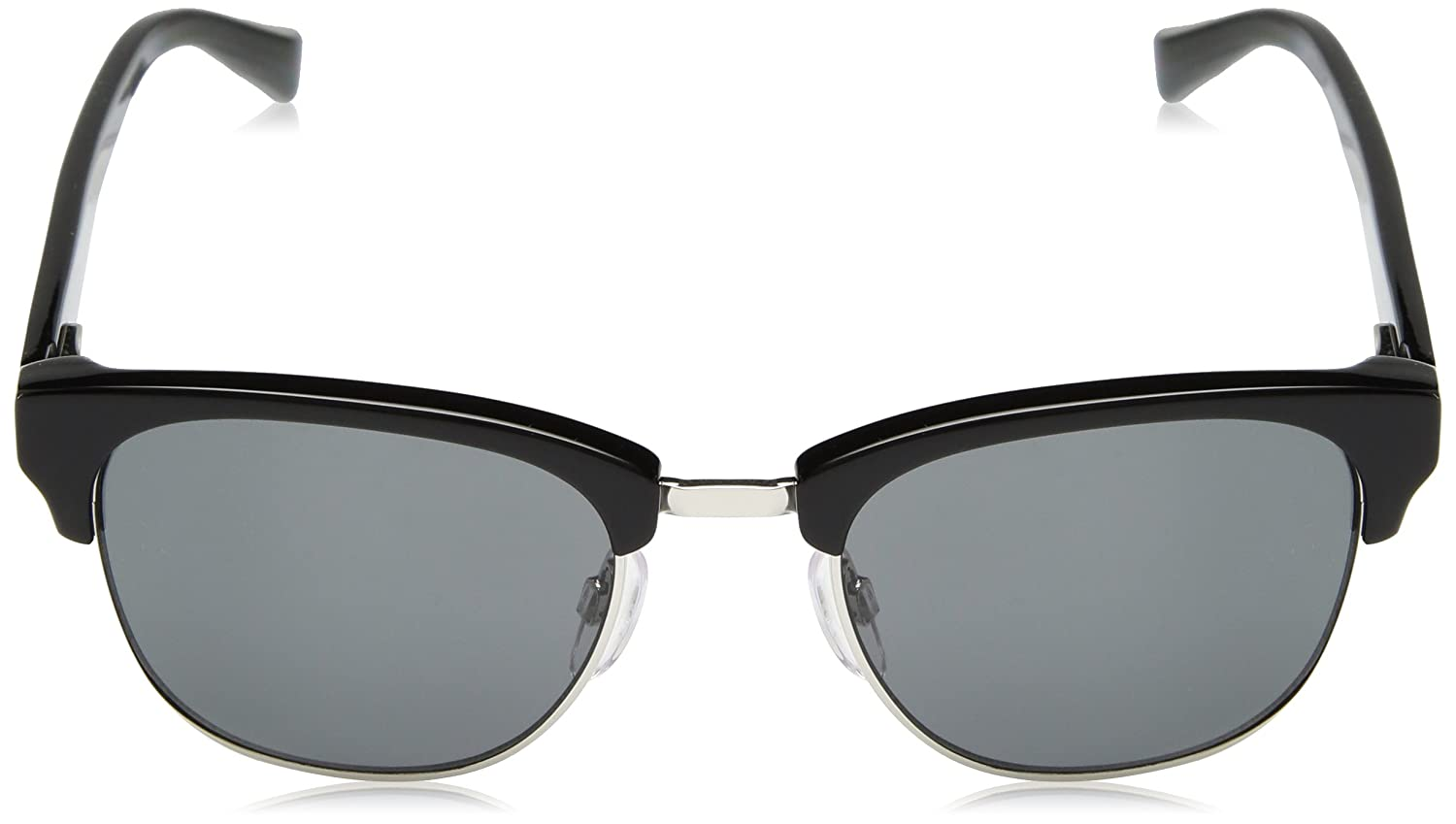 Cole Haan Mens Ch6011 Clubmaster Oval Sunglasses 50 mm