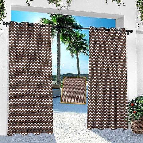Aishare Store Pergola - Cortina para exteriores, color marrón ...