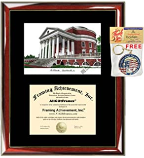 Single Black Mat University Diploma Frame University of Missouri Diploma Frame Lithograph Premium Wood Glossy Prestige Mahogany with Gold Accents