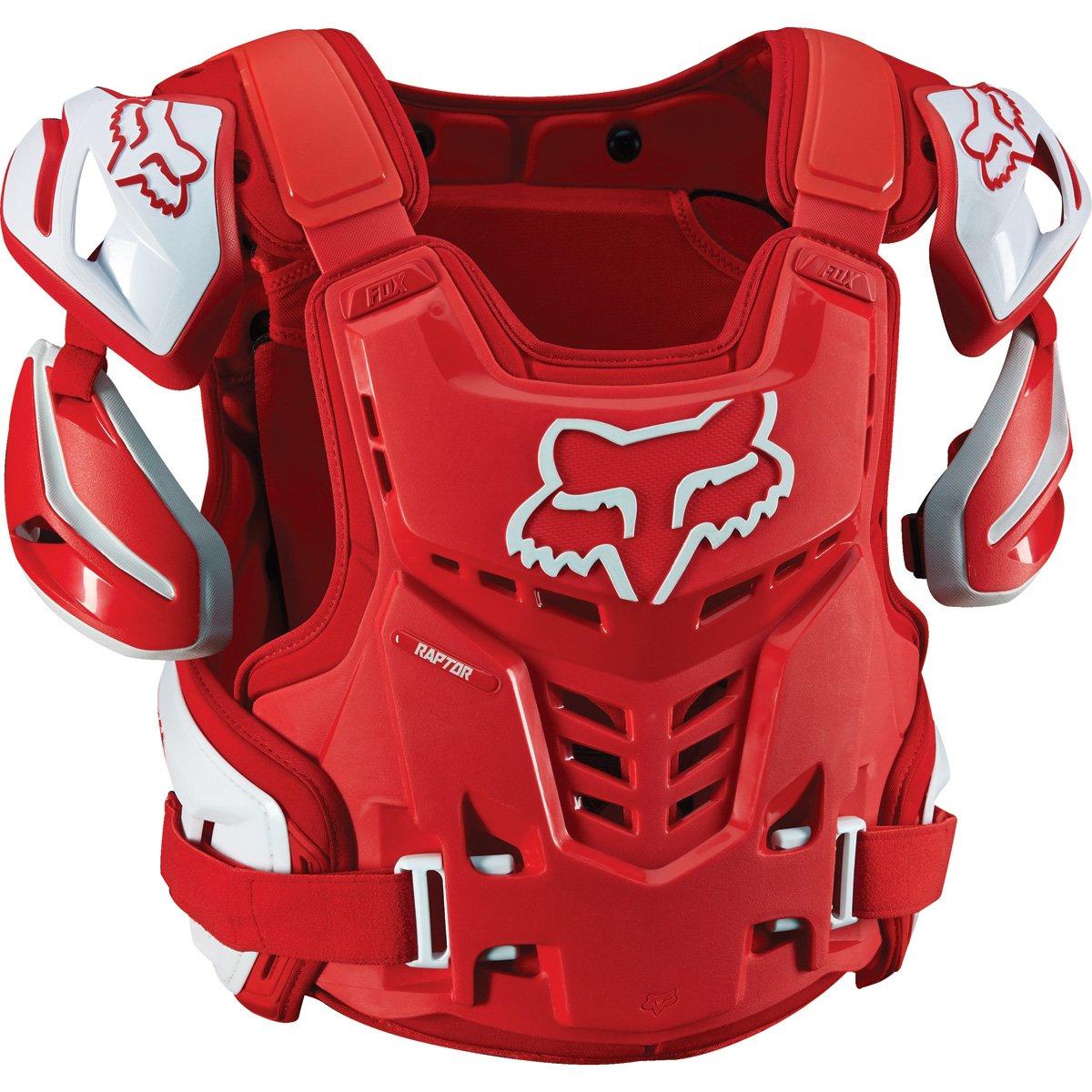 Fox Racing Adult Raptor Vest-Red-S/M
