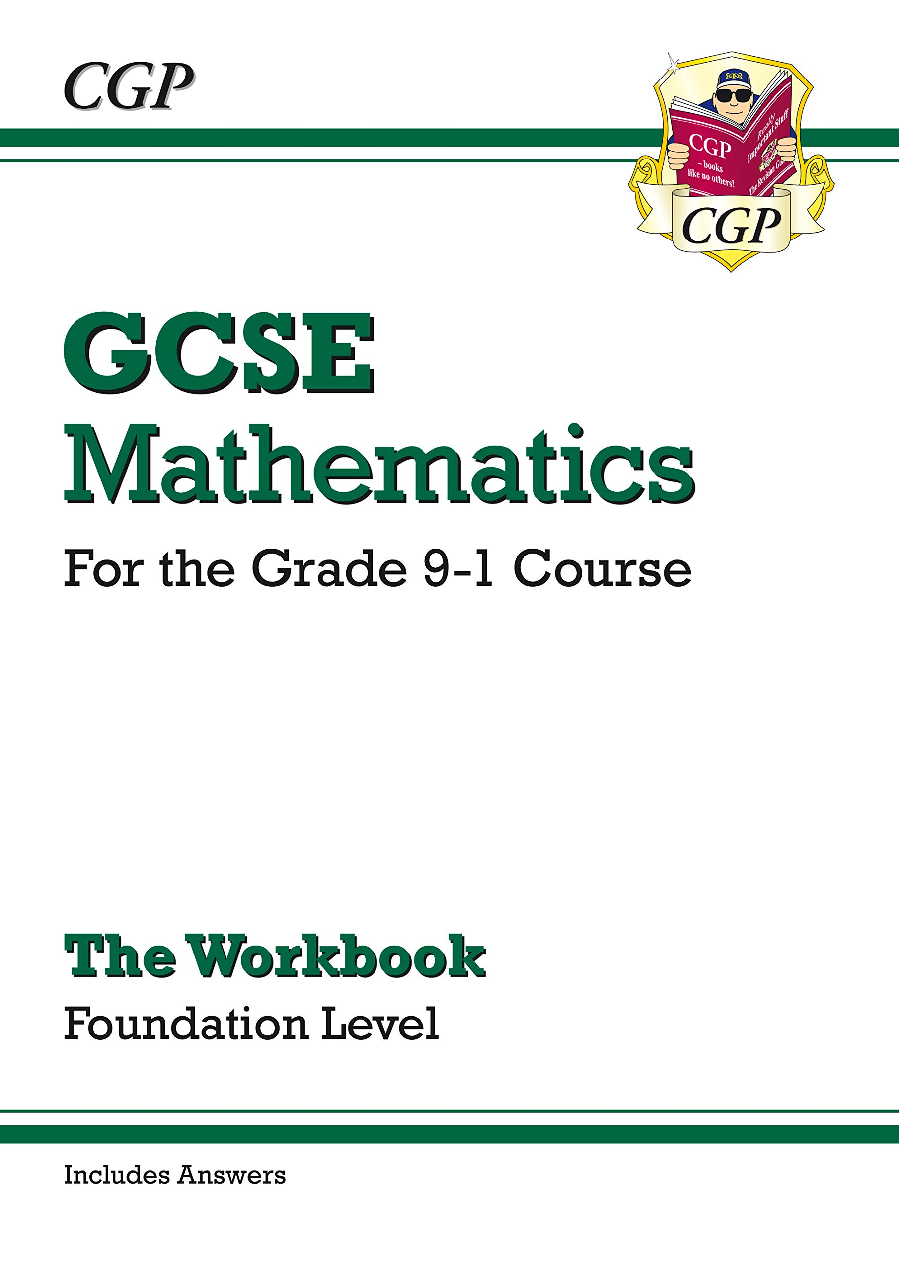 GCSE Maths Workbook: Foundation - for the Grade 9-1 Course