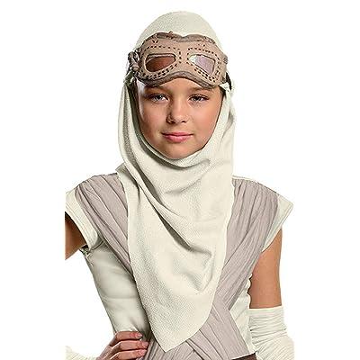 Rey Eye Mask and Hood Costume Accessory: Clothing