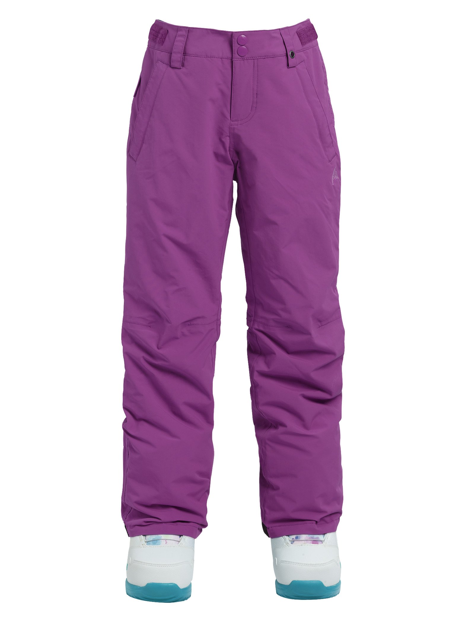 Burton Kids Girls Sweetart Snow Pants Grapeseed Size Large by Burton