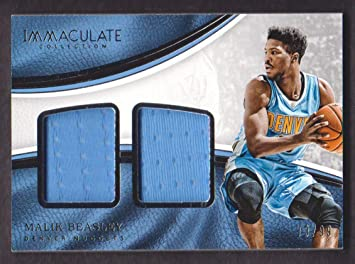 buy online c9a68 46595 2016-17 Panini Immaculate Collection Basketball Dual ...