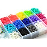 4200 Piece Rainbow Loom Bands Bracelet Making Kit