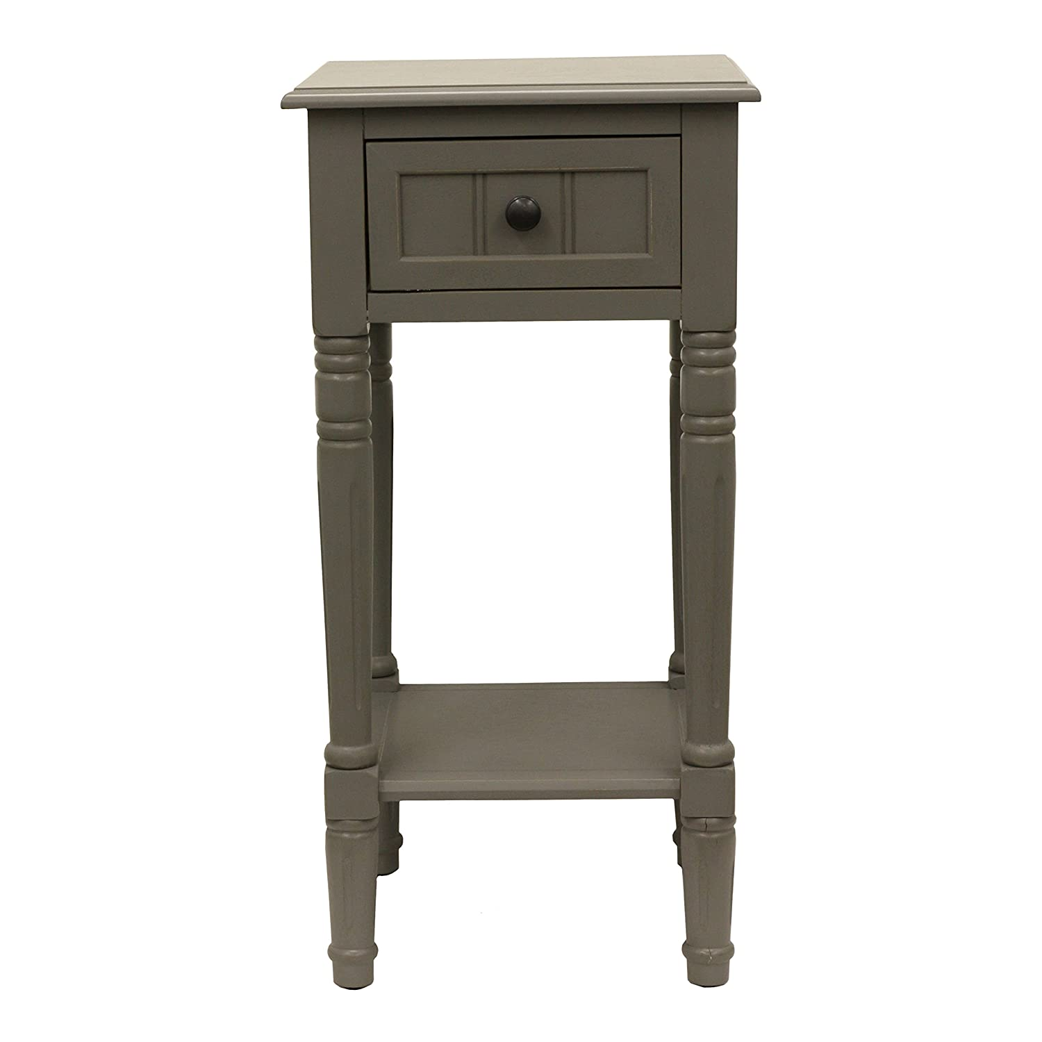 Décor Therapy FR1861 End Table, Eased Edge Gray