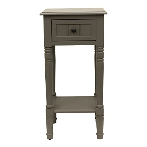 D cor Therapy End Table, Eased Edge Gray