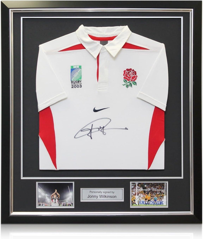 Inglaterra 2003 Camiseta de rugby de la Copa del Mundo firmada por ...