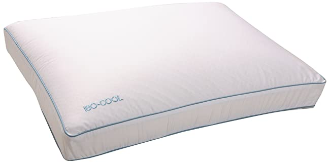Sleep Better Iso-Cool Traditional Memory Foam Pillow – Adjusts To Your Body Temperature