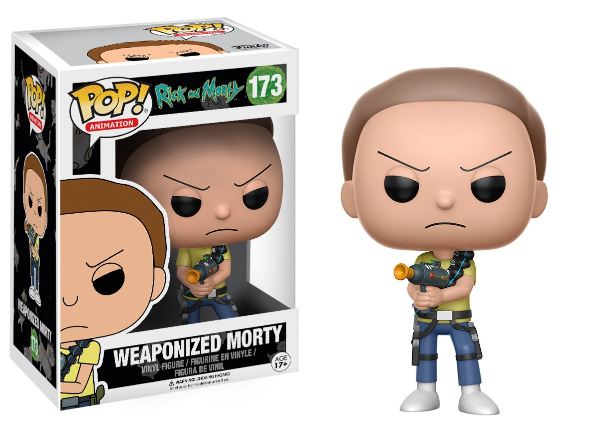 NEW #173 Rick /& Morty: Weaponised Morty Vinyl Figure Funko POP