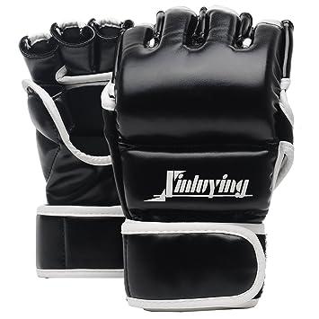 Xinluying Guantes Boxeo MMA Sparring Muay Thai Guantes Saco de Boxeo Combate Entrenamiento Vendaje Mano Mujer Hombre: Amazon.es: Deportes y aire libre