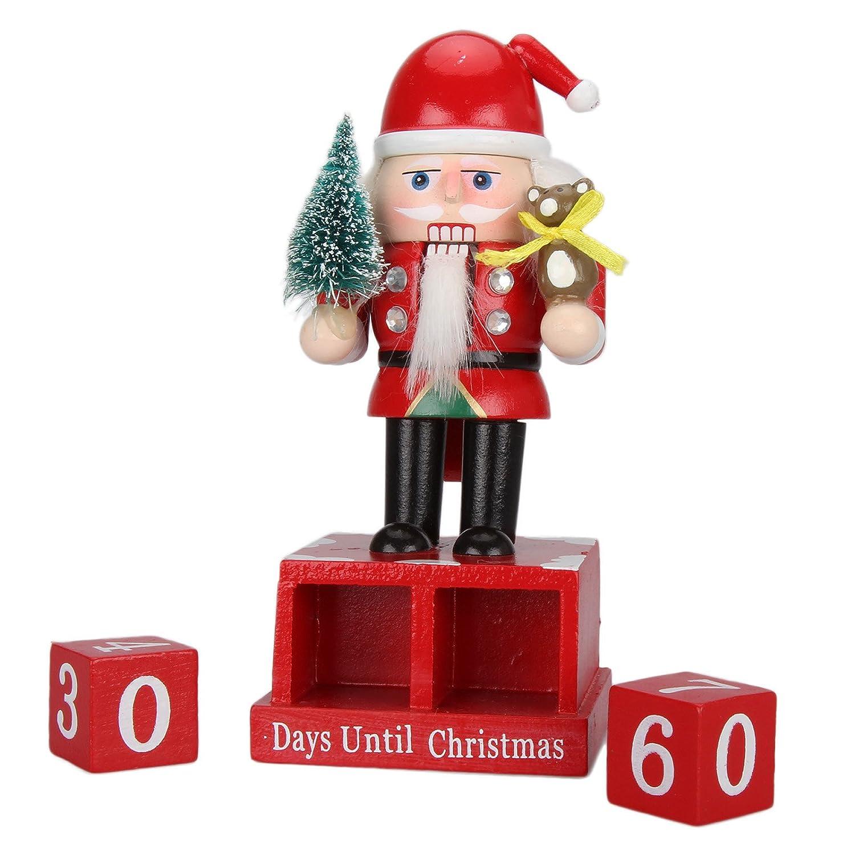 Amazon.com: Dromedary Nutcracker Countdown To Christmas Blocks Days ...
