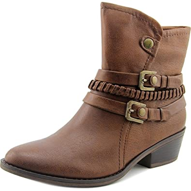 BareTraps Bare Traps Womens Minay Closed Toe Ankle Fashion Boots, Brush  Brown, Size 5.0
