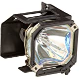 TV Lamp 915P043010 with Housing for Mitsubishi TV and 1-Year Replacement Warranty by Forcetek