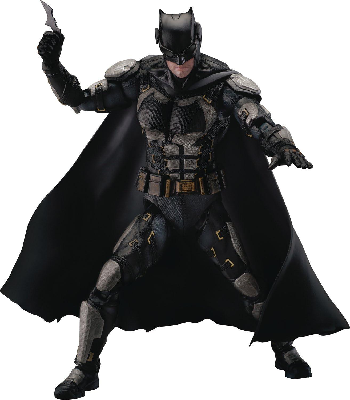 Beast Kingdom Justice League Movie: Dah-009 Dynamic 8Ction Batman (Tactical Suit Version) Action Figure