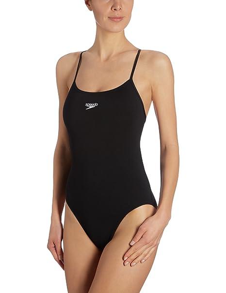 Speedo - Traje de natación para Mujer, tamaño 32 UK, Color Neon Azul: Amazon.es: Ropa y accesorios