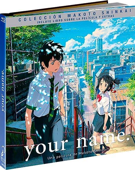 Your Name Blu-Ray Digibook Incluye Blu-Ray + Blu-Ray Extras + Booklet Blu-ray: Amazon.es: Animación, Makoto Shinkai, Animación: Cine y Series TV