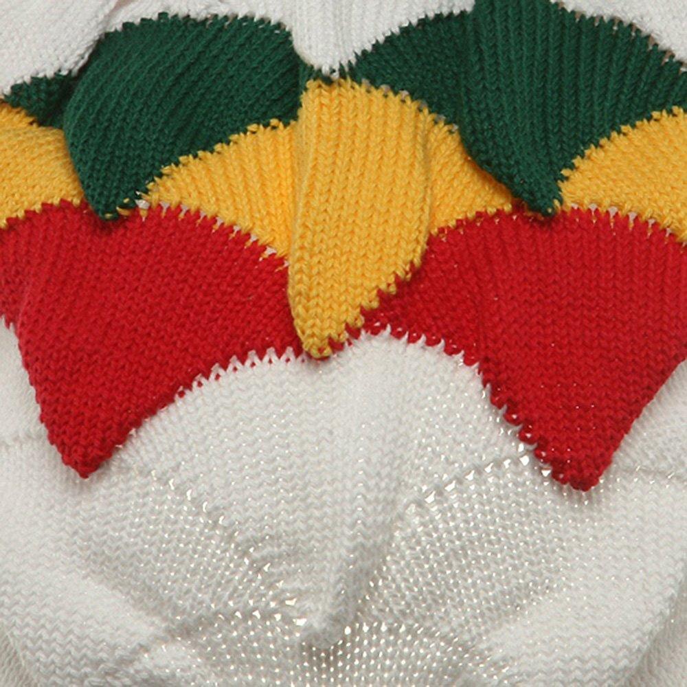 White RGY New Rasta Visor Hat for Big Head