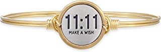product image for Luca + Danni   11:11 Make A Wish Bangle Bracelet For Women Made in USA