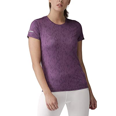 2Go Activewear Women's Animal Print Slim Fit Sports T-Shirt at Women's Clothing store