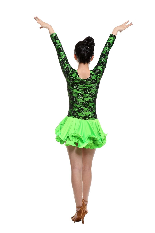 Amazon.com: Colorfulworldstore Salsa Latina Cha Cha dress ...