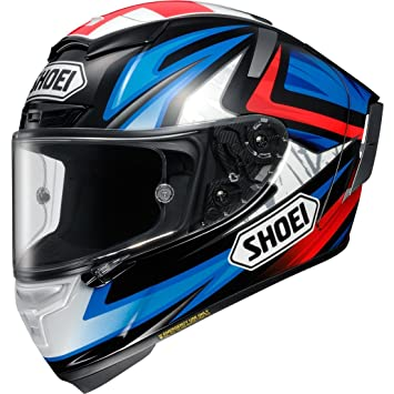 Shoei X-Spirit 3 Bradley Motorcycle Helmet M Red/Black