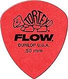 Jim Dunlop Tortex Flow Standard 72 Pack .50mm Red