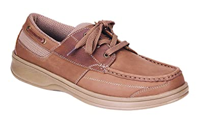 0cd3017aee448 Orthofeet Proven Foot Pain Relief Arch Support Orthopedic Diabetic Mens  Boat Shoes Baton Rouge