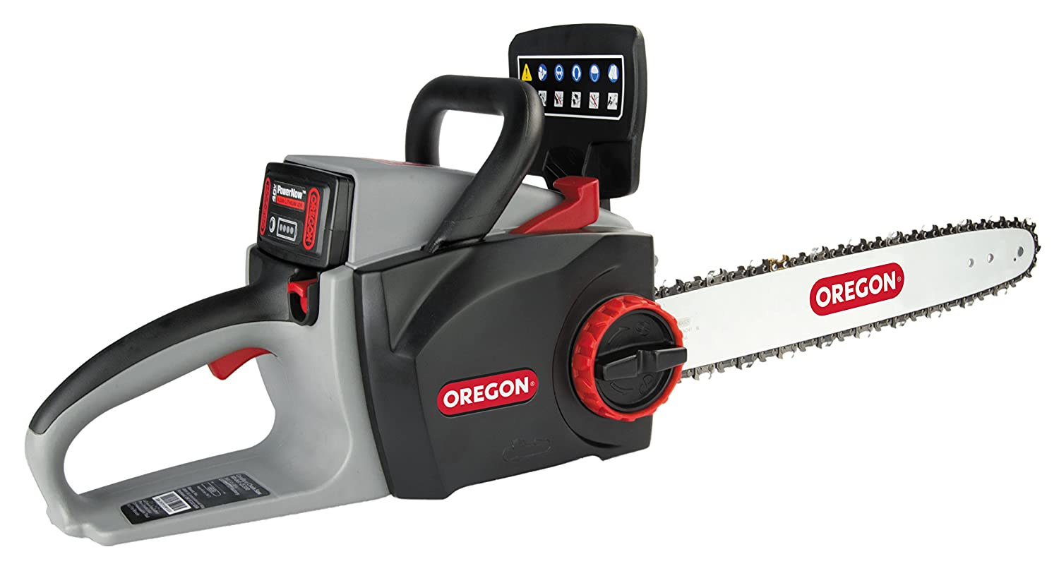 Oregon Cordless 40V CS300-A6 Chain Saw with 4.0 Ah Battery and Charger