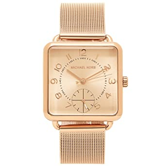 b39984d881a9 マイケルコース 時計 MICHAEL KORS MK3664 BRENNER レディース腕時計ウォッチ ピンクゴールド [並行輸入品