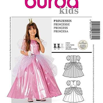 Patrón disfraz niño Niña Vestido De Princesa - Burda 4364 - Calidad superior: Amazon.es: Hogar
